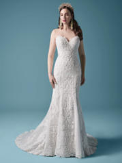 20MS683 Ivory Over Misty Mauve (gown With Nude Illusion) front
