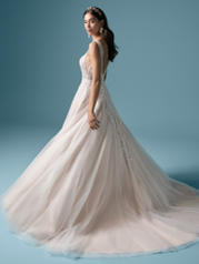 20MT619 Ivory Over Nude (gown With Nude Illusion) (picture back