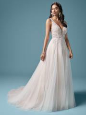 20MT619 Ivory Over Nude (gown With Nude Illusion) (picture front