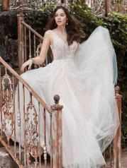 20MT619 Ivory Over Nude (gown With Nude Illusion) (picture detail