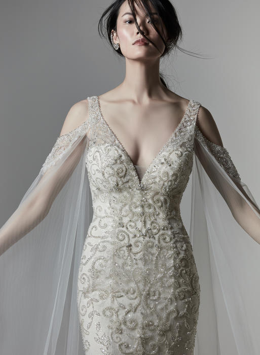Sottero and Midgely-Detachable Sleeves Only