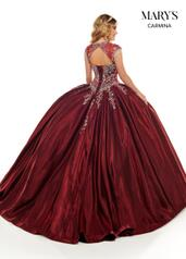 MQ1069 Burgundy back