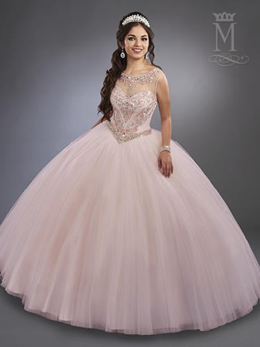 Marys Bridal - Embellished Tulle Ball Gown