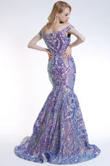 35754 Nude/Iridescent Purple back