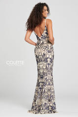 CL12027 Navy Blue/Nude back