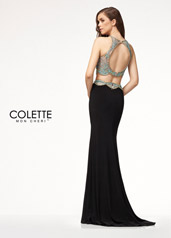 CL18210 Aqua/Nude/Black back