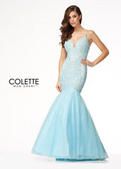 CL18297 Sky Blue/Nude front