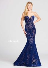 EW118052 Navy Blue/Nude front