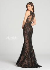 EW118134 Black/Nude back