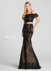 EW118156 Black/Nude front