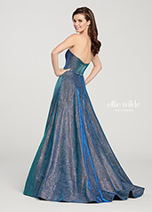 EW119065 Turquoise/Royal Blue back