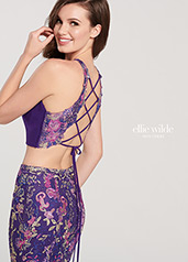 EW119113 Purple/Multi back
