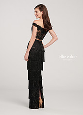 EW119121 Black/Gold back