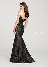 EW119150 Black/Nude back