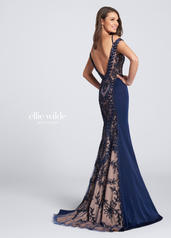 EW21715 Navy Blue/Nude back