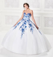 PR21957 White/Royal Blue front