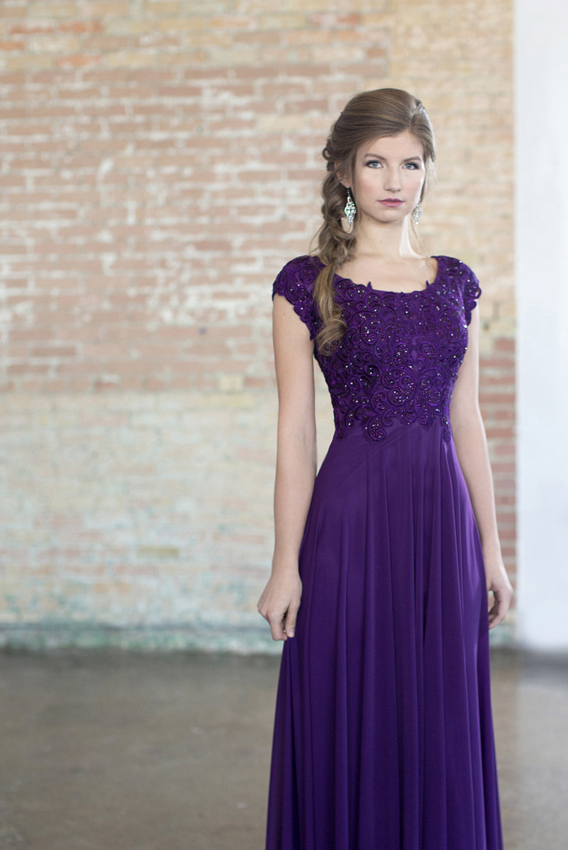 Modest Prom by Mon Cheri CLM18337
