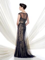 115D74 Navy Blue/Nude back