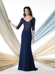 213978 Navy Blue/Nude front