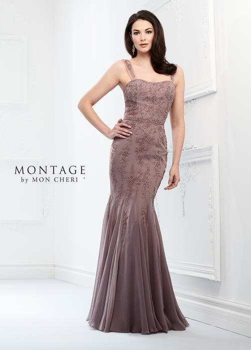 Montage by Mon Cheri designer Ivonne Dome designs this special occasion line wit