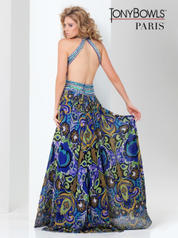 115750 Royal Blue/Multi back