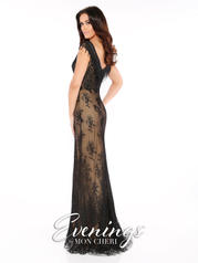 MCE11605 Black/Nude back