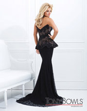 TBE11454 Black/Nude back