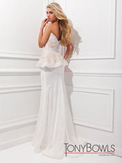 TBE11454 Ivory/Nude back