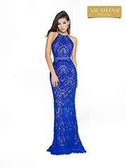 3773RD Royal Blue/Nude front