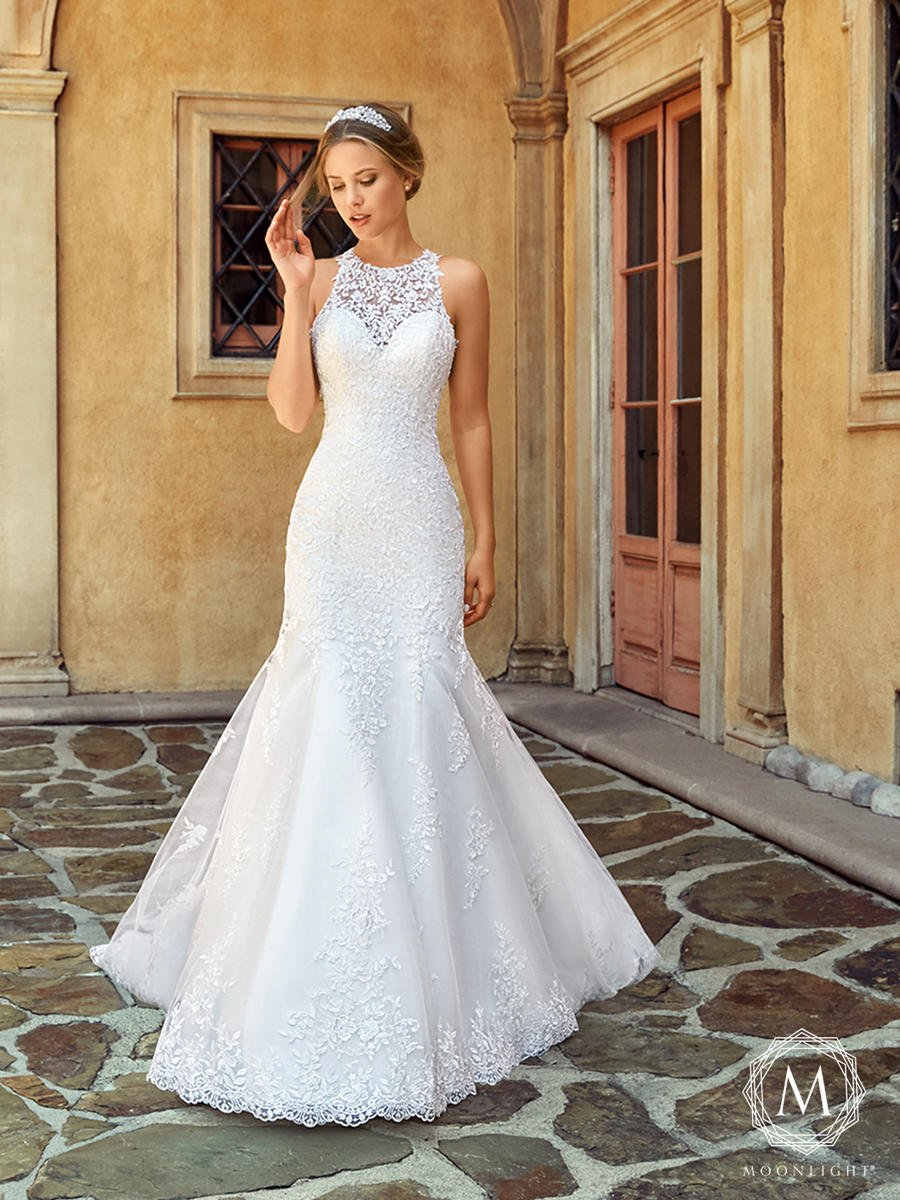 Moonlight Bridal Collection J6545