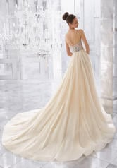 5565 Ivory/Champagne Silver back