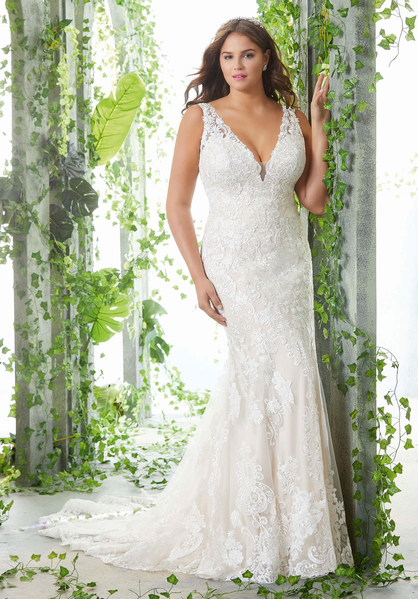 Julietta Plus Size Bridal By Morilee 3257