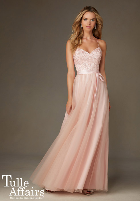 Tulle Affair Bridesmaids by Mori Lee