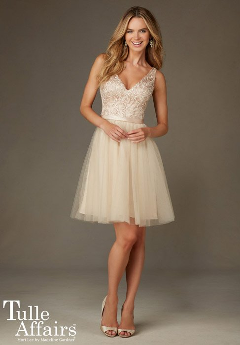 Tulle Affairs by Mori Lee