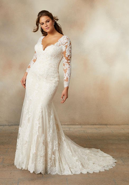 Morilee Plus Size Wedding Dresses