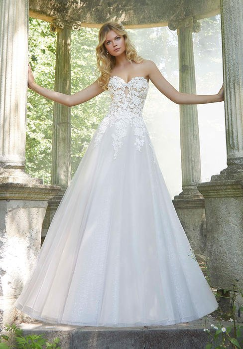 Morilee - Strapless Sweetheart Bridal Gown