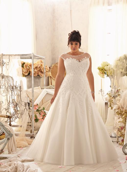 Julietta Plus Size Bridal Collection by Mori Lee