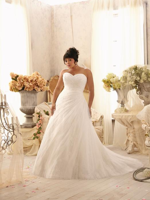 Julietta Plus Size Bridal Collection by Morilee