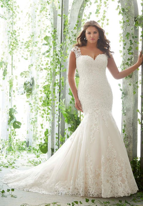 Morilee - Fit & Flare Lace Bridal Gown