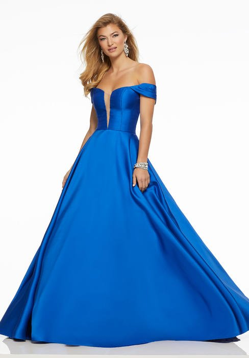 Morilee - Off The Shoulder Satin Ball Gown
