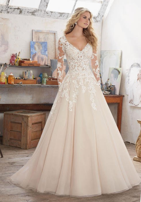 Morilee - Bridal Gown n/o disc.