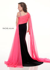 10013 Black/Hot Pink back