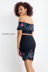 4645 Black/Multi back