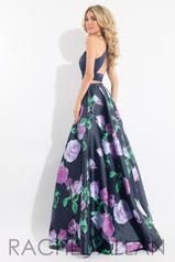 6028 Navy/Hot Violet back