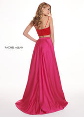 6422 Red/Fuchsia back