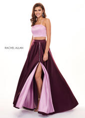 6422 Mauve/Black Cherry front