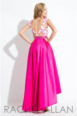 7628 White/Fuchsia back