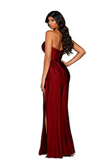 PS6394 Deep Red back