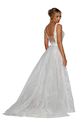 PS6805S Ivory Nude back