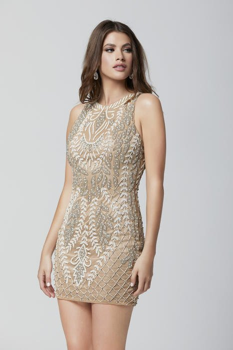 Primavera Couture - Mesh Bead Dress